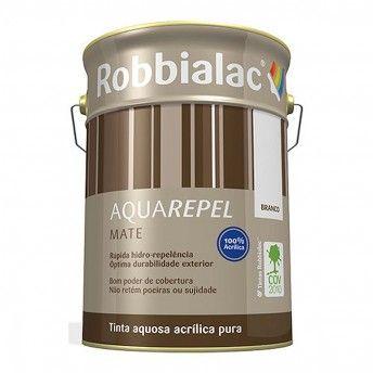 AQUAREPEL MATE BRANCO 5L 053 ROBBIALAC