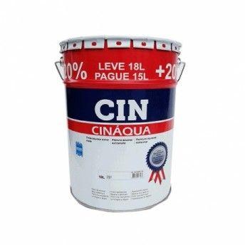 CINAQUA BRANCO 15+3L