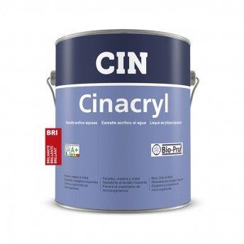 CINACRYL BRILHANTE BRANCO 4L 12-200 CIN