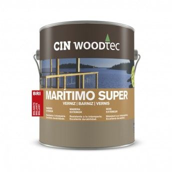 VERNIZ MARITIMO SUPER WOODTEC INCOLOR 4L 12-310 CIN