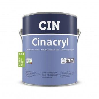 CINACRYL ACETINADO BRANCO 4L 12-220 CIN