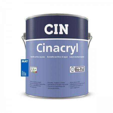 CINACRYL MATE BRANCO 4L 12-230 CIN