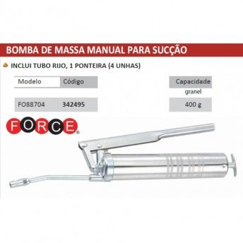 BOMBA MASSA MANUAL 400ml FO88704 FORCE