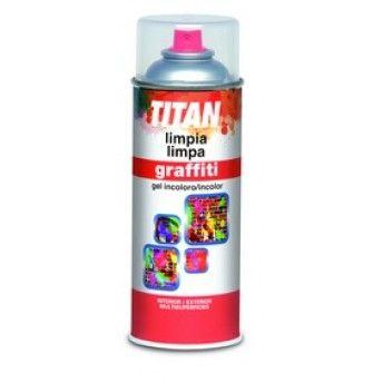 SPRAY LIMPA GRAFFITI 400ML