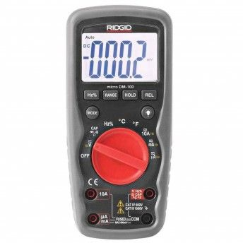 MULTIMETRO MICRO DM-100 RIDGID