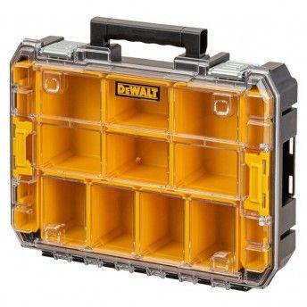 Organizador com tampa transparente TSTAK V vedação ref.DWST82968-1 DEWALT