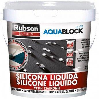 RUBSON SILICONE SL 3000 BRANCO 1KG