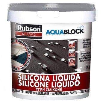 RUBSON SILICONE SL 3000 CINZA 1KG