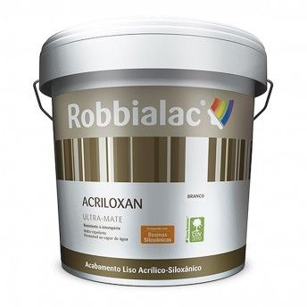 ACRILOXAN ULTRA-MATE 047 BRANCO 5L ROBBIALAC