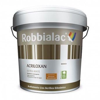 ACRILOXAN ULTRA-MATE 047 BRANCO 15L ROBBIALAC
