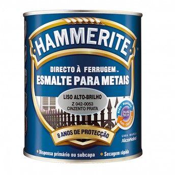 HAMMERITE CINZA/PRATA BRILHANTE 0,25L 042-0053