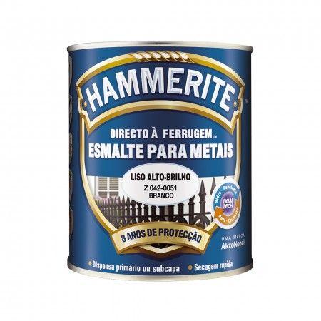 HAMMERITE BRANCO BRILHANTE 0,75L 042-0051