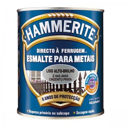 HAMMERITE CINZA/PRATA BRILHANTE 5L 042-0053