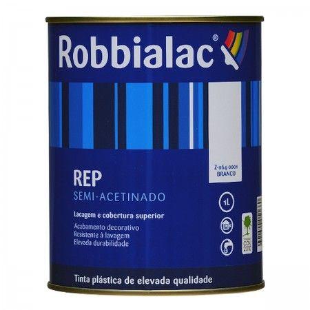 REP SEMI-ACETINADO BRANCO 1L 064 ROBBIALAC