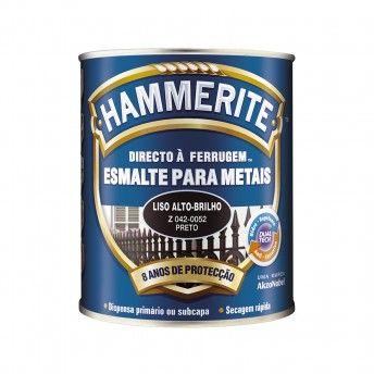 HAMMERITE PRETO BRILHANTE 0,75L 042-0052