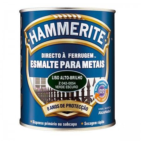 HAMMERITE VERDE ESCURO BRILHANTE 5L 042-0054