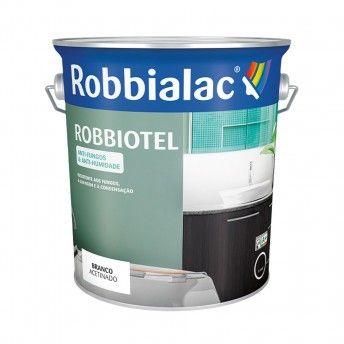 ROBBIOTEL BRANCO ACETINADO 0,75L  025-0001 ROBBIALAC