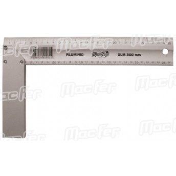 Esquadro alumínio MacFer DLM 350mm ref. 010.0082 MACFER