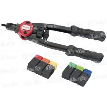 Alicate rebitar porcas braços MacFer BT-605 M3~M10 ref. 015.0046 MACFER