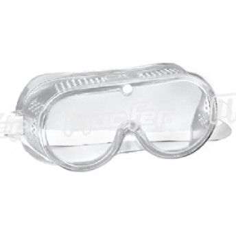 Óculos prot. c/ elástico MacFer GB008 trans. ref. 017.0017 MACFER