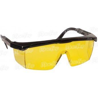 Óculos prot. MacFer HS2004-2 amarelo ref. 017.0024 MACFER