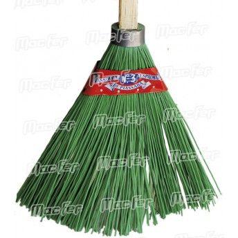 Vassoura jardim nylon  350251 verde ref. 025.0092 MACFER