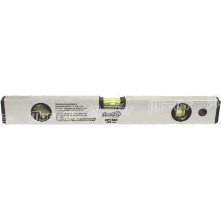 Nível bolhas alumínio MacFer EPT-96B   600mm ref. 031.0054 MACFER