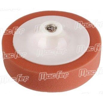 Esponja pol. c/ prato MacFer EPP-0155 M14 150x50mm laranja ref. 033.0082 MACFER