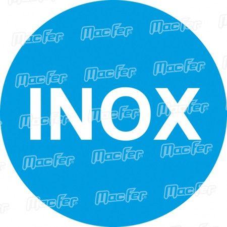 Talocha inox lisa MacFer CN5010-SS 280x130mm ref. 034.0012 MACFER