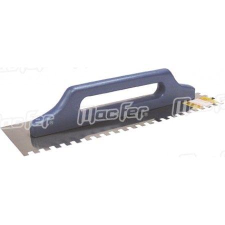 Talocha inox dent. MacFer CN903-1 480x130mm   (8x8mm) ref. 034.0017 MACFER