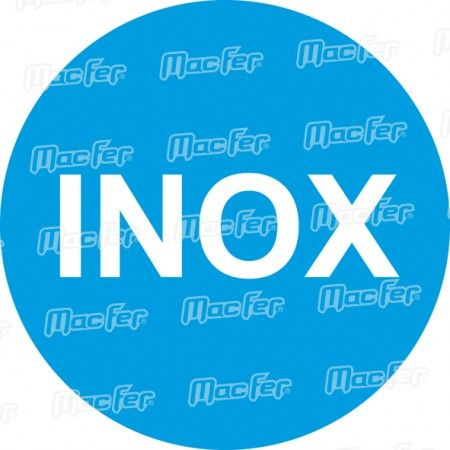 Talocha inox dent. MacFer CN5010-SS 280x130mm   (6x6mm) ref. 034.0013 MACFER