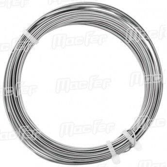 Arame maleável inox AISI316  AI 0,5mm   500m ref. 035.0017 MACFER