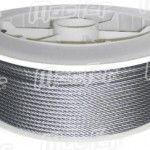 Cabo aço inox anti-magnético  WRSS-AM 7x7   2,5mm 250m ref. 035.0061 MACFER