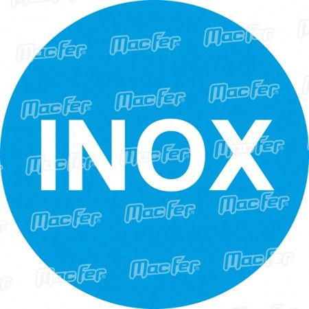 Colher canto interior inox  D6405/P 75x75x110mm ref. 045.0031 MACFER