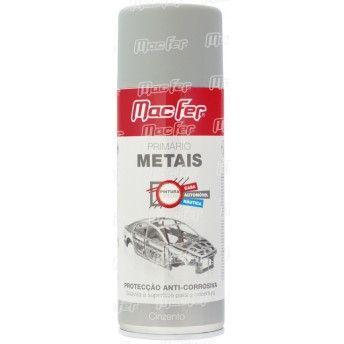 Primário p/ metais MacFer SPA-PMT 400ml cinza ref. 058.0059 MACFER