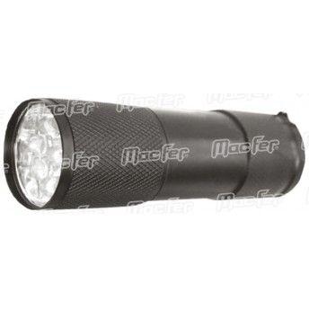 Lanterna mão MacFer ZF7609-1 9LED 3xAAA  ref. 066.0081 MACFER