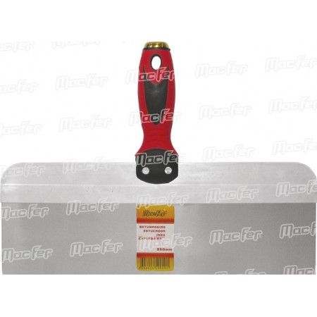 Betumadeira p/ estucador inox MacFer CN7168B-B2 300mm ref. 083.0104 MACFER