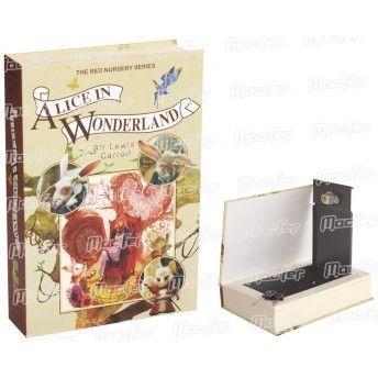 Cofre livro c/ ch. MacFer 804B 222x152x45mm ref. 087.0028 MACFER