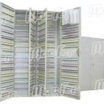 Chaveiro metálico  TS p/     20 chaves c/ etiquetas (TS0083) ref. 087.0080 MACFER