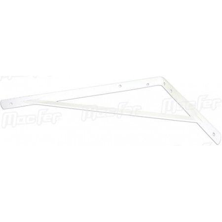 Poleia p/ prateleira industrial mf PPIND 280x400mm branca ref. 088.0032 MACFER