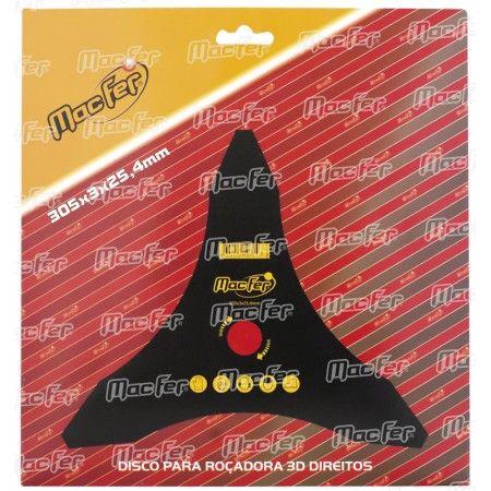 Disco p/roçadora 3 dentes direitos ref 090.0113 Macfer