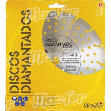 Disco diam. MacFer Segmentado 230mm ref. 092.0004 MACFER