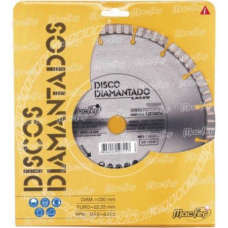 Disco diam. MacFer Turbo 230mm ref. 092.0014 MACFER