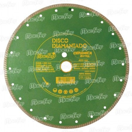 Disco diam. MacFer Cerâmica Extra KCC103 200mm ref. 092.0029 MACFER