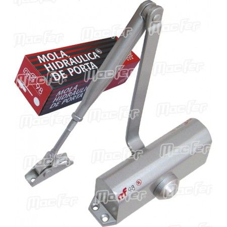 Mola porta hidráulica mf Multiforça alumínio ref. 094.0050 MACFER