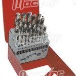 Jg. brocas cil. MacFer HSS-M2-019 1~10mm 19pçs ref. 117.0090 MACFER