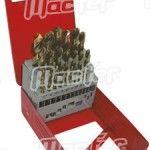 Broca cil. MacFer HSS-Cobalto 5%   1,0mm  ref. 118.0001 MACFER