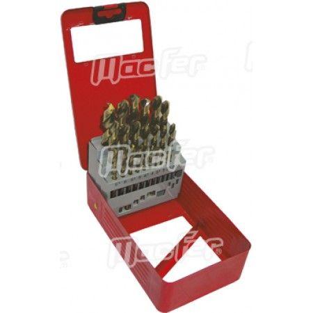 Broca cil. MacFer HSS-Cobalto 5%   4,5mm  ref. 118.0010 MACFER