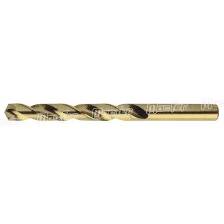 Broca cil. MacFer HSS-Cobalto 5%   1,25mm  ref. 118.0038 MACFER
