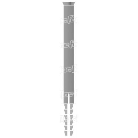 Bucha nylon TP emb. mf TP-1   5x  30mm  ref. 121.0020 MACFER